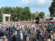 Klaipeda havsfestival Royaltyfria Foton