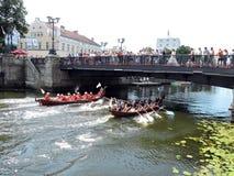 Klaipeda havsfestival Royaltyfria Bilder