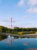Klaipeda Industrie Stockbild