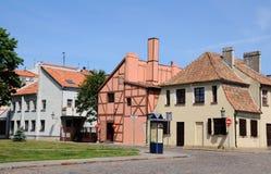 Klaipeda. La Lituania immagini stock libere da diritti