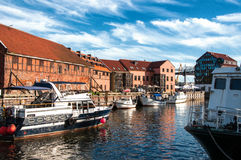 Klaipeda. Lithuania Stock Photos