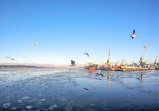 Klaipeda, Lithuanie images libres de droits