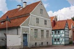 Klaipeda, Lituania Imagen de archivo libre de regalías