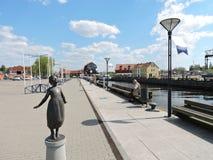 Klaipeda miasteczko, Lithuania Fotografia Royalty Free