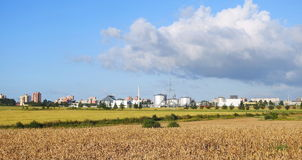 Klaipeda miasteczko, Lithuania zdjęcia stock