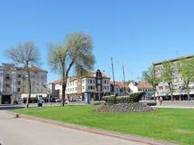 Klaipeda old town, Lithuania Royalty Free Stock Photos