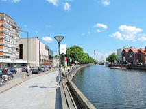 Klaipeda old town, Lithuania Royalty Free Stock Photography