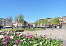 Klaipeda old town, Lithuania Royalty Free Stock Photo