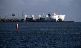 Klaipeda port Litauen Royaltyfri Fotografi