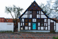 Klaipeda Puppet Theater front view. Stock Photos