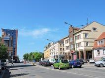 Klaipeda town, Lithuania Royalty Free Stock Photo