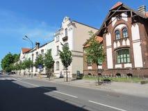 Klaipeda town, Lithuania Stock Photo