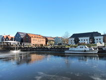 Klaipeda town, Lithuania Stock Photography