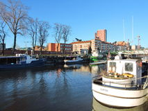 Klaipeda town, Lithuania Royalty Free Stock Photography