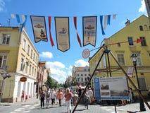 Klaipeda town, Lithuania Royalty Free Stock Photos