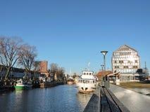 Klaipeda town, Lithuania Stock Image