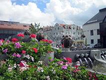 Klaipeda town, Lithuania Royalty Free Stock Image