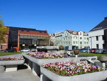 Klaipeda town, Lithuania Royalty Free Stock Images