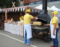 Klaipeda town Sea Festival day, Lithuania Stock Images