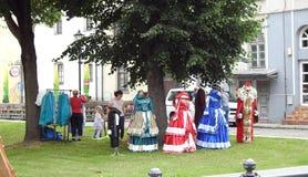 Klaipeda town Sea Festival day, Lithuania Stock Photography