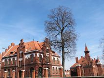 Klaipeda-Universität stockfotografie