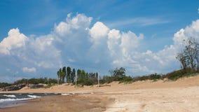 Klaipeda vê a paisagem lateral foto de stock royalty free