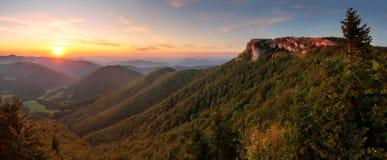 Klak peak in sunset Stock Photography