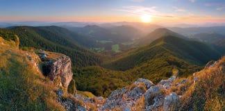 Klak peak in sunset Royalty Free Stock Photography