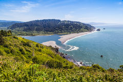Klamath River End stock images