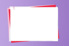 klamerka papier Obrazy Royalty Free