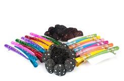 klamerki koloru włosy hairpin Zdjęcie Stock