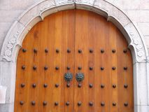 klamki drzwi jing świątyni Obraz Stock