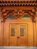klamki drzwi jing świątyni Obrazy Royalty Free