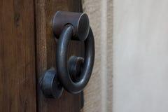 klamki drzwi stary drewna Fotografia Stock
