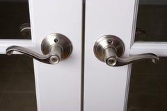 klamki drzwiowych dźwigni zdjęcia stock