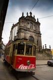 Klampa på gatan, Porto, Portugal Arkivfoton
