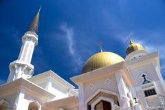 klang马来西亚清真寺 库存照片