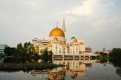 Klang Royal Town Mosque a.k.a Masjid Bandar Diraja Klang Royalty Free Stock Photo