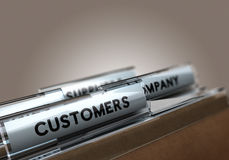 klanten stock illustratie