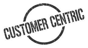 klanten centric zegel vector illustratie