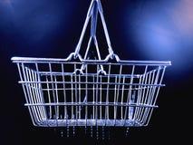 Klanten die bij supermarkt winkelen Royalty-vrije Stock Foto