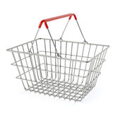 Klanten die bij supermarkt winkelen vector illustratie