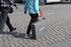 KLANTEN IN KOPENHAGEN Stock Foto's