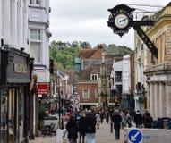 Klanten in Winchester royalty-vrije stock afbeeldingen