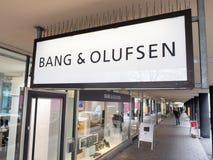 Klap & Olufsen stock foto