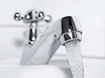 Klapp och dricksvatten Royaltyfria Foton