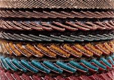 Klappenschleifen-Schleifscheibehintergrund Lizenzfreies Stockbild