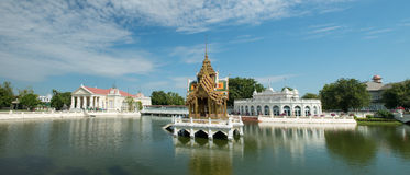 Klappijn Aisawan, de Zomerpaleis, de Reis van Thailand Stock Fotografie