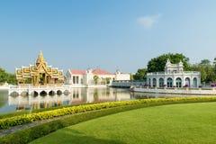 Klappijn Royal Palace, Ayutthaya, Thailand Royalty-vrije Stock Foto