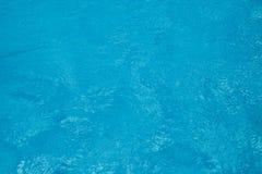 Klar bakgrund för blått vatten Royaltyfria Bilder